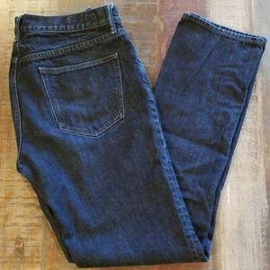 Banana Republic Men's Slim Fit Dark Wash Jeans